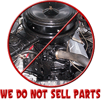 We do not sell parts